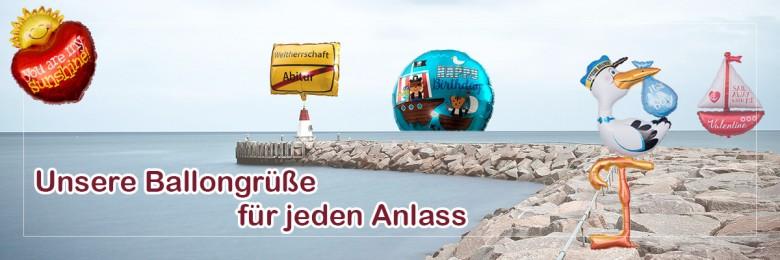 Newsletter Anmeldung Ballongruesse.de